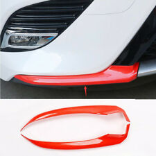 2018 For Toyota Camry Red Carbon fiber Front Bumper Front Lip Corner Cover Trim