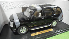 CADILLAC  ESCALADE noir 2002 au 1/18 ANSON 30392 voiture miniature de collection