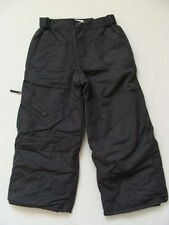 NWT Boys Snow Pants Ski Snowboard Size 4 Water Resistant TCP Gray Winter NEW