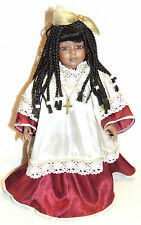 * GRACE * SIGNED BY CINDY SHAFER PORCELAIN MUSICAL DOLL PLAYS AMAZING GRACE 1995