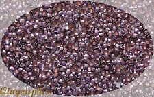 1440 x4 Pcs Iron On Hotfix Sparkling Faceted Rhinestuds Light Purple SS16 AS4Lc