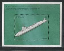 GRENADA  # 2750 MNH SUBMARINE SHIP  Sounvenir Sheet