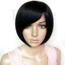 Colorful Fashion Sexy Girl Cosplay Party Cute Beauty BOB Style Short Hair Wigs