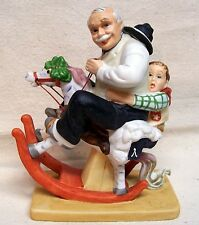 "Norman Rockwell Figurine ""Gramps At The Reins"" 1980"