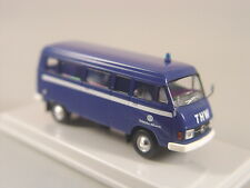 THW Mercedes L 206 D Kombi    - Brekina 1:87 - 13259  #E