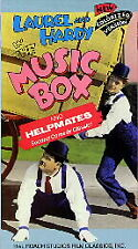 Music Box, The + Helpmates - Laurel & Hardy (VHS) Hal Roach Colorized Version