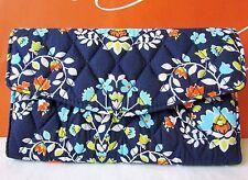 NWT Vera Bradley Strap Wallet Purse Chandelier Floral