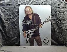 Michael Schenker<>Dean Guitars Promo Poster<<>>SUPER RARE<>