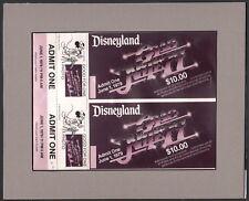 Disneyland 1979 Grad Night Tickets color separation film RARE Park Disneyana