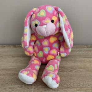 Chad Valley Design A Bear Pink Heart Bunny Rabbit Soft Toy