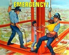 "Vintage TV Show EMERGENCY Lunchbox side B 2"" x 3"" Fridge MAGNET"