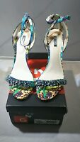 Guess Catarina Women US 9M Blue Sandals