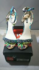 Guess Catarina Women US 9M Blue Sandals New with Box