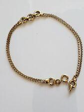 Fine UnoAErre 18k Yellow Gold Italian Chain Bracelet