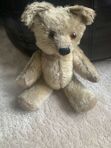 Antique Vintage Jointed Teddy Bear