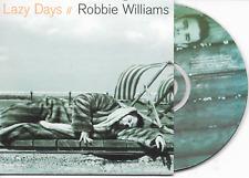 ROBBIE WILLIAMS - Lazy days CD SINGLE 2TR Dutch Cardsleeve 1997 (EMI) Take That