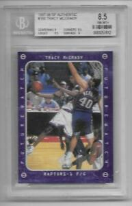 97 1997 98 UD Sp Authentic 166 rc TRACY MCGRADY tmac Rookie card nm Mint BGS 8.5