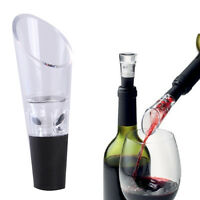 Red Wine Quick Aerator Filter Pour Spout Bottle Stopper Decanter Pourer Aerating