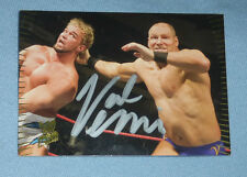 Val Venis Signed WWE 2007 Topps Action Trading Card #22 Autograph Pro Wrestling