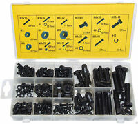 Rolson Tools 61292 180pc Nut and Bolt Assortment in Storage Case FREE DELIVERY
