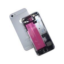 Gehäuse für iPhone 5S Backcover Akkudeckel vormontiert bestückt Silber, Weiss