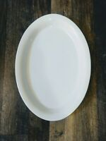 """FOOD NETWORK ~ Oval White Serving Platter Tray Dish Plate 22"""" x 15"""" EX Large EUC"""
