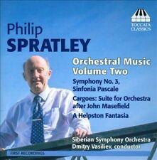 Philip Spratley Musique orchestrale (Volume 2), New Music