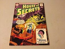 HOUSE OF SECRETS #61 Silver Age 1st Appearance of ECLIPSO Mid Grade RARE A92