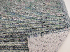"Teal "" Multi tonal texture"" Heavy Upholstery Fabric. By NEXT"