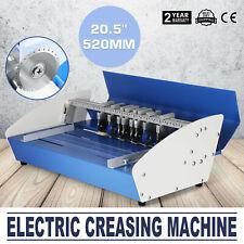 3-in-1 520mm electrical creasing machine Creaser Scorer Perforator paper