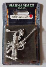 GW Warhammer 40K Eldar Fuegan, Fire Dragon Lord 8057D 2000 - METAL OOP MIB RARE