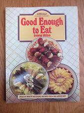 Vintage Cook Book GOOD ENOUGH TO EAT Balanced Recipes RETRO St Michael 1980s