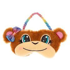 Monkey Sleep Mask Fuzzy Furry Soft Sleep Aid Plush Sleeping Mask New