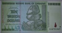 ZIMBABWE 10 TRILLION DOLLARS NOTE. UNCIRCULATED.