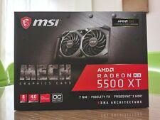 MSI Radeon RX 5500 XT MECH 8G OC GDDR6 Graphics Card (RADEONRX5500XTMECH8GOC)