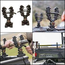 XL Rhino Grip Rack Mount Rifle Bows Pole Gun Tool Shovels Holder UTV ATV Hunting