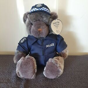 Constable T. Bear, Search and Rescue Squad,Victoria Police .2002, FREE POSTAGE