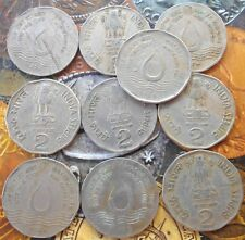 10 Coins LOT - 2 Rupees (FAO) 1994 Commemorative: FAO - World Food Day - Water