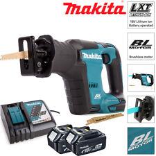 Makita vaivén sierra sin escobillas DJR188Z 18 V con 2 X 5Ah Pilas Y Cargador