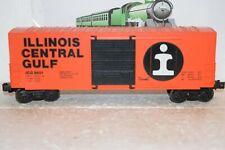 O Scale Trains Lionel Illinois Central Highcube Box car 9601