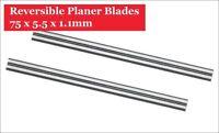 4x Hartmetall Hobelmesser 75,5mm mm für Black & Decker BD 75 / KW 750 / B37