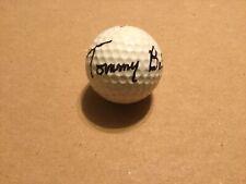 Tommy Bolt Signed Autograph Golf Ball US Open JSA Guarantee