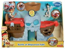 Fisher Price Disney Jake and the Neverland Pirates Battle at Shipwreck Falls toy