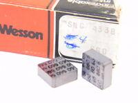 NEW SURPLUS 4PCS. VR/WESSON SNG 433B  GRADE: 660  CARBIDE INSERTS