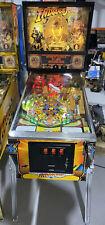 Indiana Jones Pinball Machine Williams LEDs Free Ship