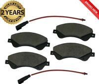 FOR FORD TRANSIT MK7 FRONT BRAKE PADS 2.2 FWD 2006 - 2014  WITH SENSORS 1721086