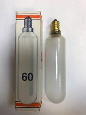 Osram Tubo 5 INCANDESCENTE Lampadina e14 220-230v 60W OPACO / congelato 30 x