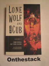 MANGA: Lone Wolf and Cub Vol. 17: The Will of the Fang by Kazuo Koike(Paperback)