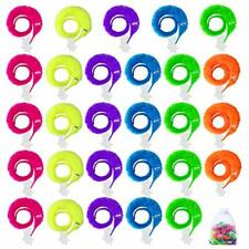 61Pcs Magic Worms Wiggly Worm on A String Twisty Fuzzy Worm Toys for Carnival