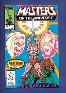 Masters of the Universe #1 (Marvel/Star Comics, 1986) HIGH GRADE HE-MAN